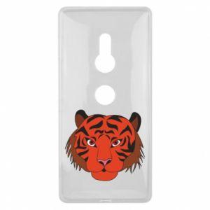 Sony Xperia XZ2 Case Big tiger face