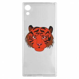 Sony Xperia XA1 Case Big tiger face
