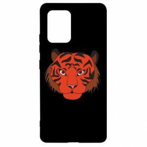 Samsung S10 Lite Case Big tiger face