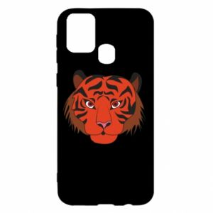 Samsung M31 Case Big tiger face