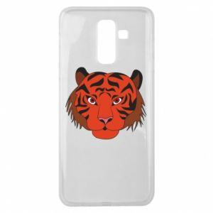 Samsung J8 2018 Case Big tiger face