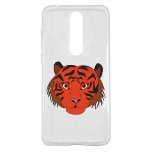 Nokia 5.1 Plus Case Big tiger face