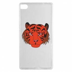 Huawei P8 Case Big tiger face