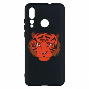 Huawei Nova 4 Case Big tiger face