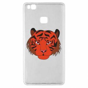 Huawei P9 Lite Case Big tiger face