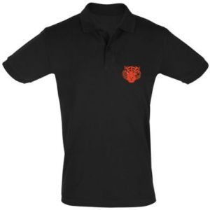 Men's Polo shirt Big tiger face