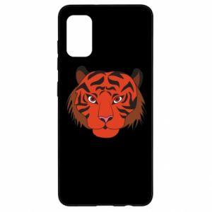 Samsung A41 Case Big tiger face