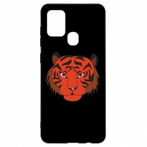 Samsung A21s Case Big tiger face