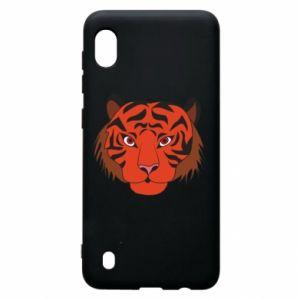 Samsung A10 Case Big tiger face