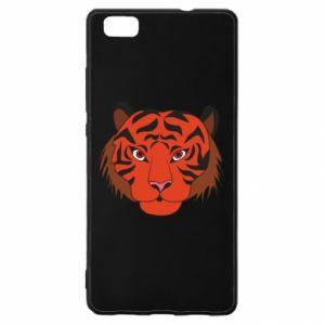 Huawei P8 Lite Case Big tiger face