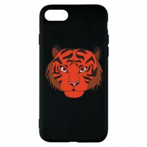 iPhone SE 2020 Case Big tiger face