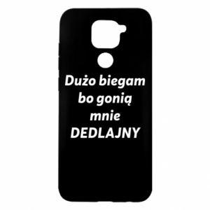 Etui na Xiaomi Redmi Note 9/Redmi 10X Dużo biegam...