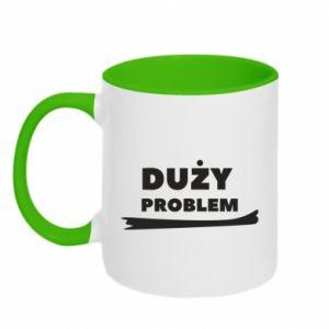Two-toned mug Big problem - PrintSalon