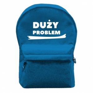 Backpack with front pocket Big problem - PrintSalon