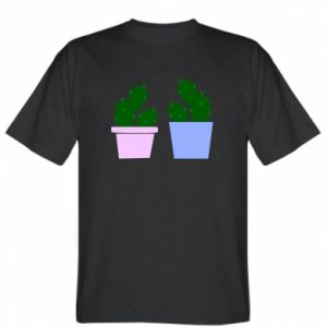 T-shirt Two large cacti
