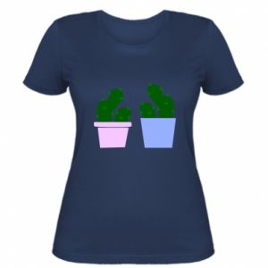 Women's t-shirt Two large cacti