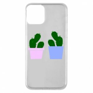 Phone case for iPhone 11 Two large cacti