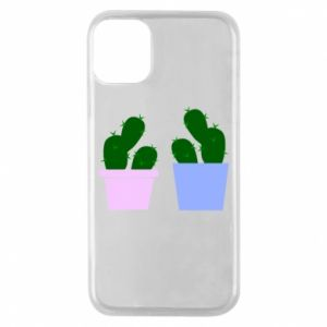 Phone case for iPhone 11 Pro Two large cacti
