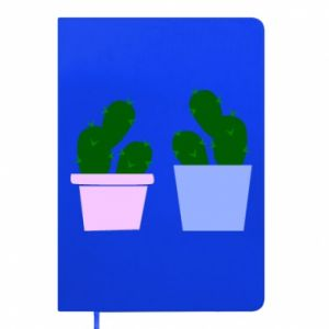 Notepad Two large cacti