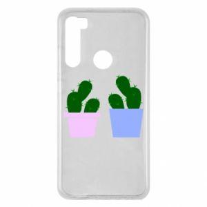 Xiaomi Redmi Note 8 Case Two large cacti