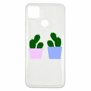 Xiaomi Redmi 9c Case Two large cacti