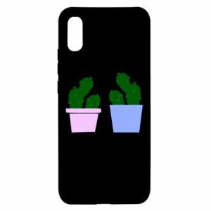 Xiaomi Redmi 9a Case Two large cacti
