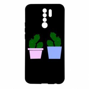 Xiaomi Redmi 9 Case Two large cacti