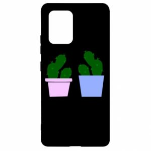 Samsung S10 Lite Case Two large cacti