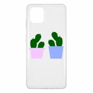 Samsung Note 10 Lite Case Two large cacti