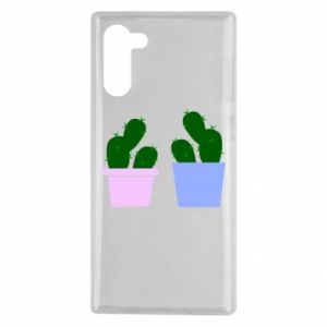Samsung Note 10 Case Two large cacti
