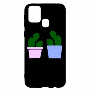 Samsung M31 Case Two large cacti