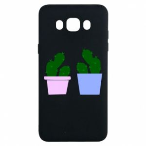 Samsung J7 2016 Case Two large cacti