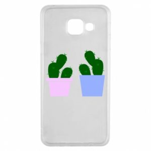 Samsung A3 2016 Case Two large cacti