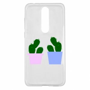 Nokia 5.1 Plus Case Two large cacti