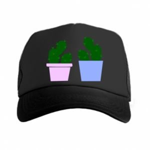 Trucker hat Two large cacti