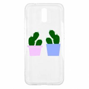 Nokia 2.3 Case Two large cacti