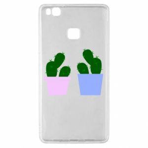 Huawei P9 Lite Case Two large cacti