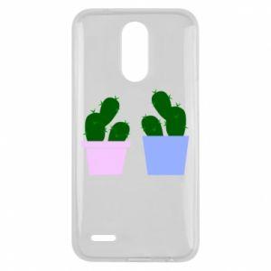 Lg K10 2017 Case Two large cacti