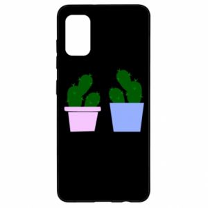 Samsung A41 Case Two large cacti