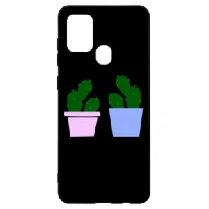 Samsung A21s Case Two large cacti