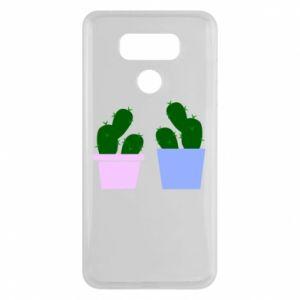 LG G6 Case Two large cacti