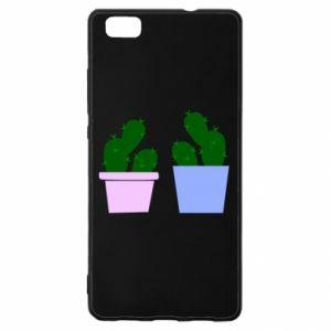 Huawei P8 Lite Case Two large cacti