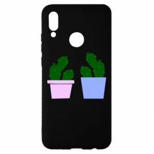 Huawei P Smart 2019 Case Two large cacti
