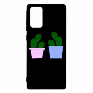 Etui na Samsung Note 20 Dwa duże kaktusy