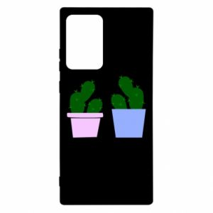 Etui na Samsung Note 20 Ultra Dwa duże kaktusy