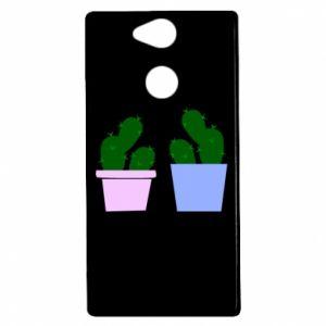 Etui na Sony Xperia XA2 Dwa duże kaktusy