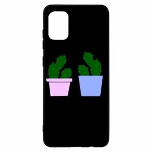Etui na Samsung A31 Dwa duże kaktusy