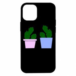 Etui na iPhone 12 Mini Dwa duże kaktusy