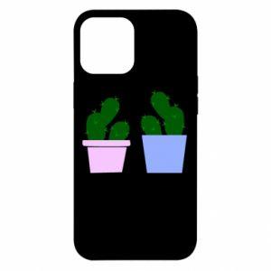 Etui na iPhone 12 Pro Max Dwa duże kaktusy