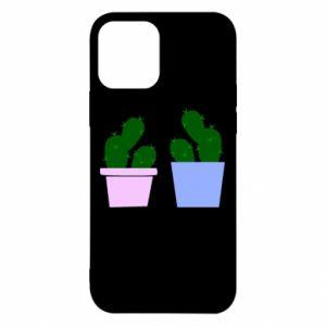 Etui na iPhone 12/12 Pro Dwa duże kaktusy